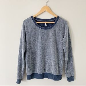 Z Supply Fuzzy Raglan Sweatshirt